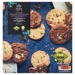 Morrisons Free From Triple Choc Cookie & Choc Chip Shortbread