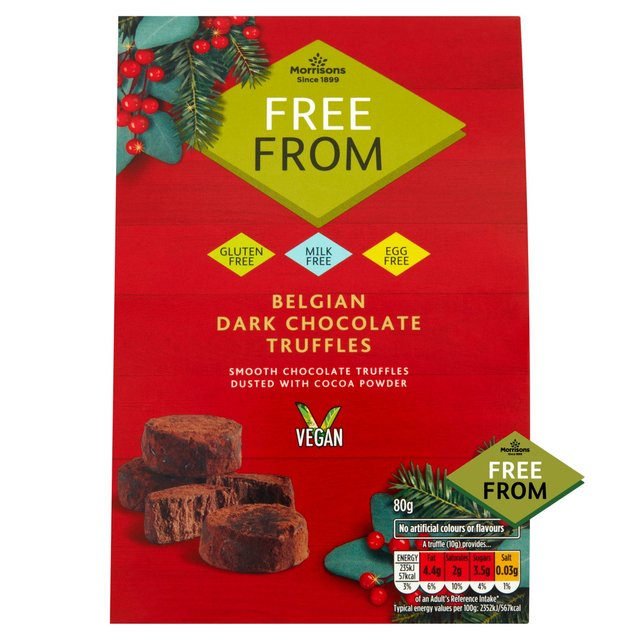 Morrisons Free From Chocolate Truffles