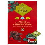 Morrisons Free From Chocolate & Raspberry Truffles