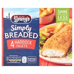 Young's 4 Breaded Haddock Fillets