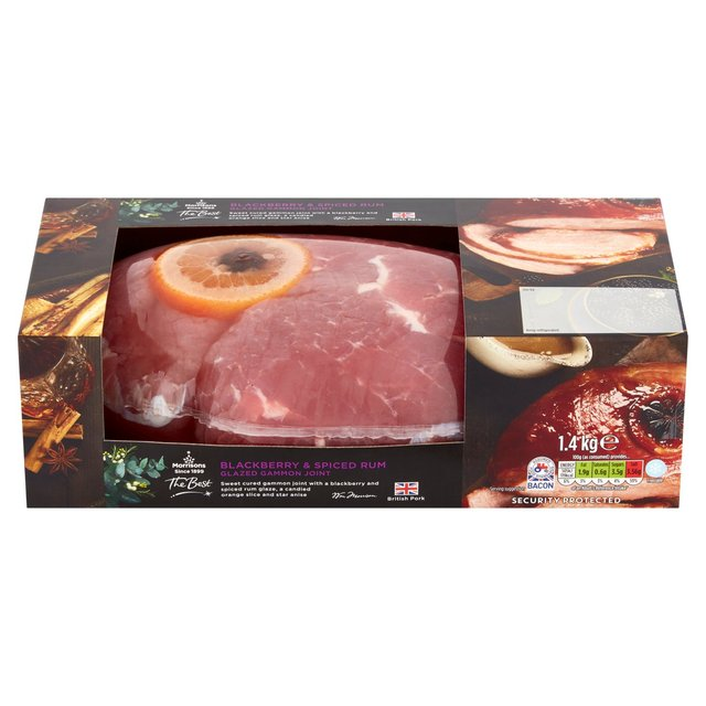 Morrisons The Best Spiced Rum & Blackberry Gammon Joint