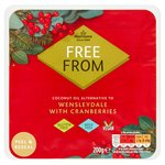 Morrisons Free From Wensleydale With Cranberries