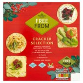 Morrisons Free From Savoury Crackers Selection
