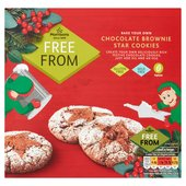 Morrisons Free From Xmas Cookies