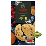 Morrisons Free From Cranberry & Clementine Shortbread