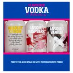 Absolut Vodka Trio