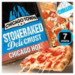 Chicago Town Stonebaked Deli Crust Chicago Hot Pizza