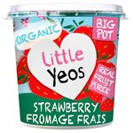 Yeo Valley Little Yeos Strawberry Fromage Frais