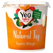 Yeo Valley Mango Natural Top Yogurt