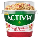 Activia Low Fat Yogurt Raspberry & Chia Seed Muesli