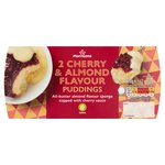 Morrisons Cherry & Almond Puddings