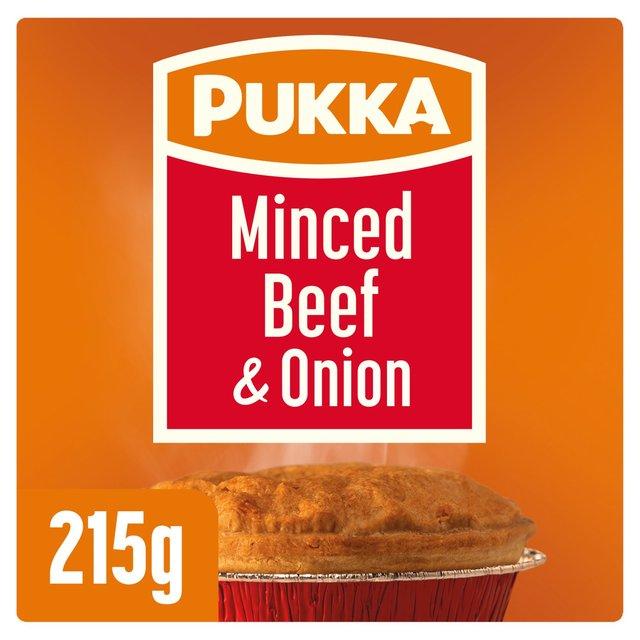 Pukka Minced Beef & Onion Pie