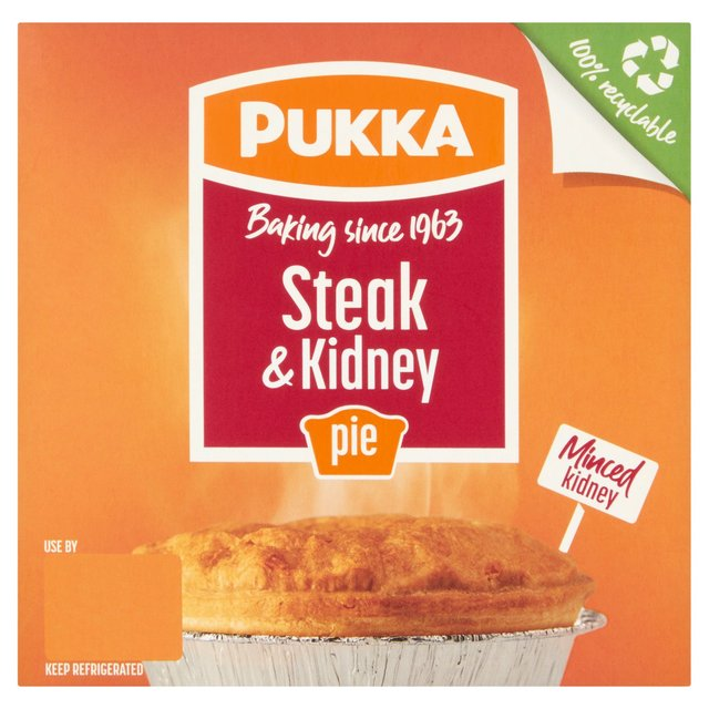 Pukka Steak & Kidney Pie