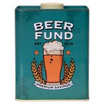 Beer Fund Tin With Mini Chocolate Cookies