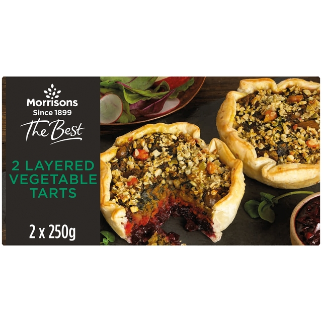 Morrisons The Best Layered Vegetable Tart