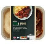 Morrisons Liver, Bacon & Mash