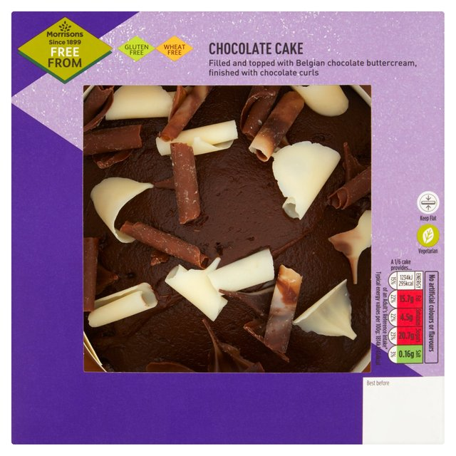 Morrisons Free From Chocolate Cake