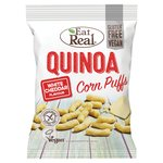 Eat Real Quinoa Corn Puffs White Cheddar Flavour