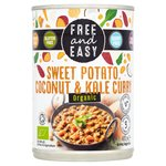 Free And Easy Sweet Potato, Coconut & Kale Curry