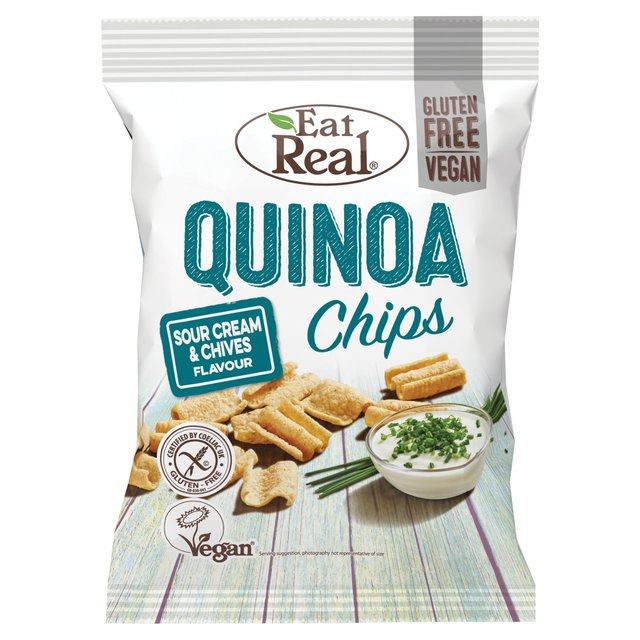 Eat Real Quinoa Chips Sour Cream & Chives Flavour