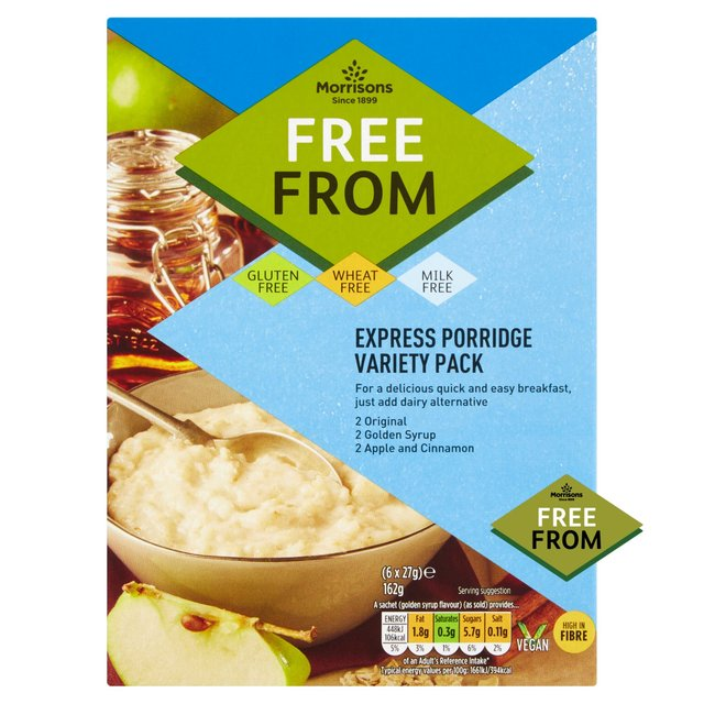 Morrisons Free From Express Porridge Variety Pack