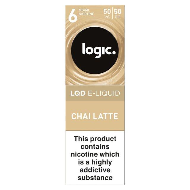 Logic Lqd E - Liquid Chai Latte 6Mg / Ml 50Vg / 50Pg 10Ml