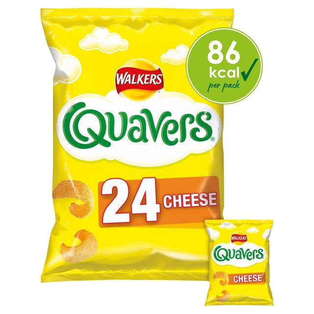 Walkers Quavers Cheese Multipack Snacks