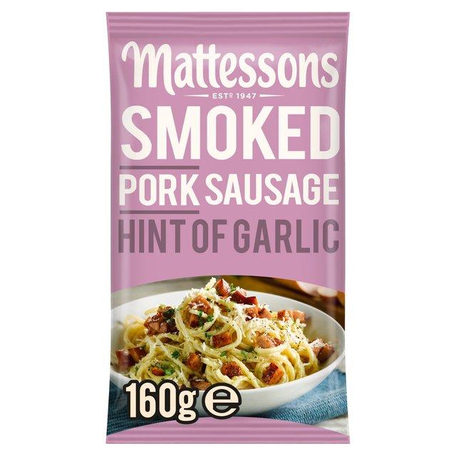 Mattessons Smoked Pork Sausage Garlic
