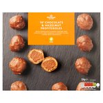 Morrisons 18 Chocolate Hazelnut Profiteroles