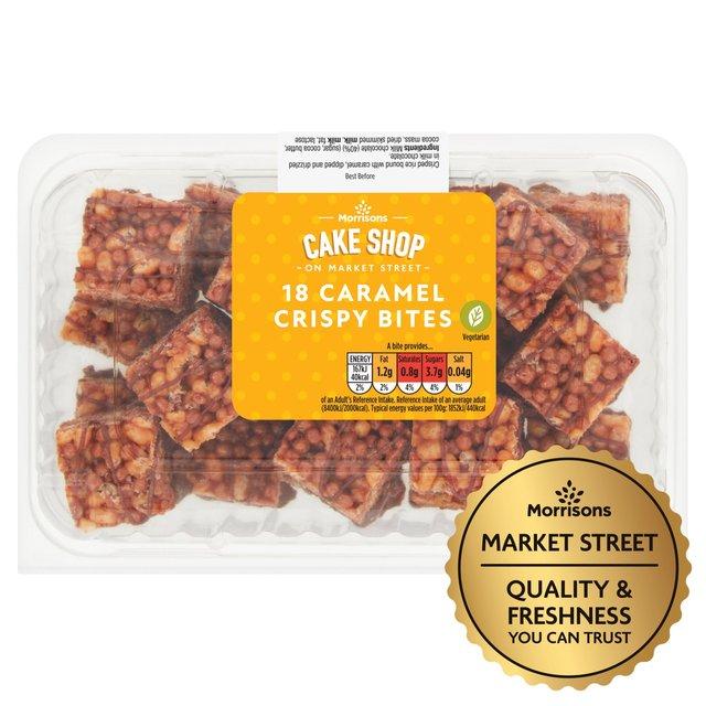 Market Street Chocolate Crispy Bites