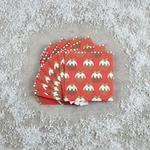 Morrisons 20 Christmas Puds Napkins