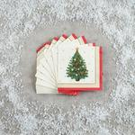Morrisons Traditional Christmas Tree Napkins 20 Pack