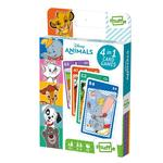 Shuffle 4 In 1 Card Games Disney Animals