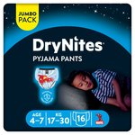 Dry Nites Pyjama Pants 4 - 7 Years X16 (Boy)