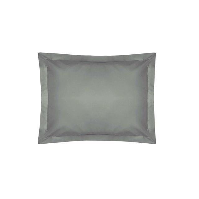 Belledorm Oxford Egyptian Blend Pillowcase, Slate