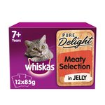Whiskas Pure Delight Meaty Selection In Jelly 7+ Years