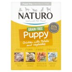 Naturo Grain Free Puppy Chicken And Potato With  Veg