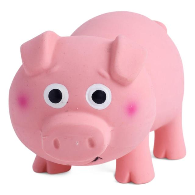 Petface Oink Oink Latex Pig Dog Toy