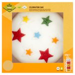 Just Love Food Company Madeira Stars Celebration Cake