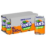 Fanta Orange Zero Sugar