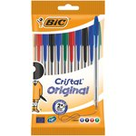 Bic Crystal Mixed Pack 10