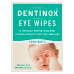 Dentinox Eye Wipes 12 Wipes