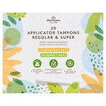 Morrisons 20 Organic Tampons Mixed Pack