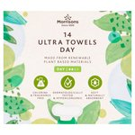 Morrisons Sustainable Ultra Towels 14 Pack