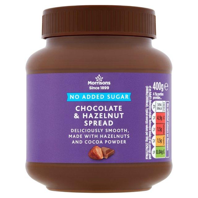 Morrisons Morrisons Hazelnut Chocolate Spread No Added