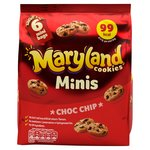 Maryland Cookies Minis Choc Chip 6 Mini Bags