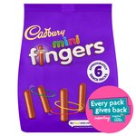 Cadbury Mini Fingers Biscuits Bag