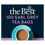 Morrisons The Best Earl Grey Tea Bags 100's