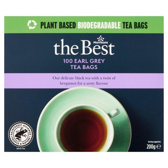 Morrisons The Best Earl Grey Tea Bags 100's