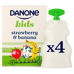 Danone Kids Organic Strawberry & Banana no added sugar yogurt